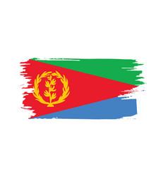 eritrea flag vector image