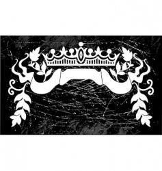 royal sign vector image