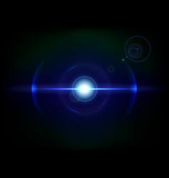 blue space explosion cosmos burst vector image