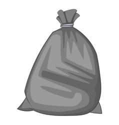 Garbage bag icon cartoon style vector image