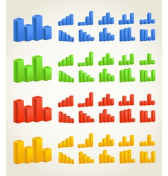 Color charts vector image vector image