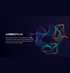 abstract blend background vector image