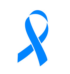 banner for prostate cancer awareness month in vector image