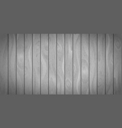 bright gray realistic wooden boards with texture vector image