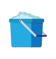 Bucket icon cartoon vector image