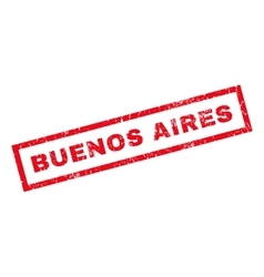 Buenos aires rubber stamp vector