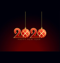 Christmas style 2020 happy new year background vector