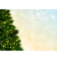 Christmas Tree Template vector image