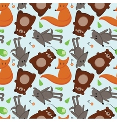 Forest animals 1 vector