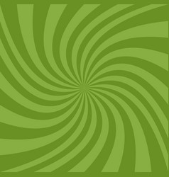 geometric swirl background - design from green vector image