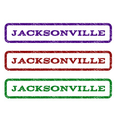 Jacksonville watermark stamp vector