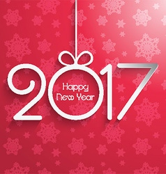 new year background 1510 vector image
