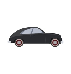 Retro car isolated vector image