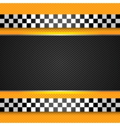 Taxi cab blank template vector