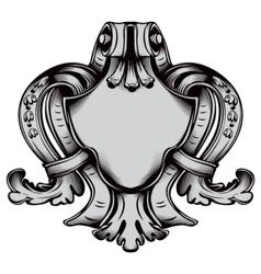 Antique emblem vector image vector image