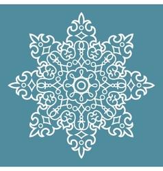 Round Arabesque Pattern vector image vector image
