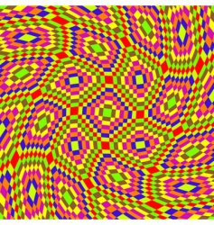psychedelic pattern vector image