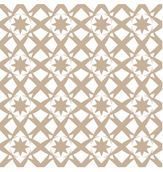 Seamless geometric pattern - symmetric vector