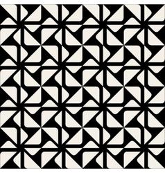 Seamless Triangle Square Geometric Pattern vector