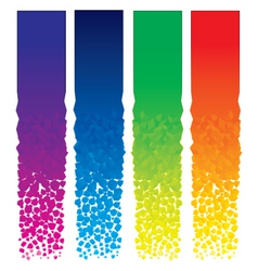 vertical banners set vector image