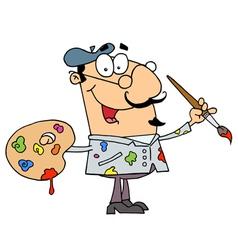Painter Man vector image vector image