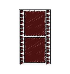 tape film isolated icon vector image vector image