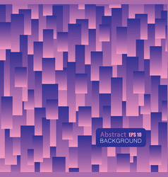 abstract rectangle in purple and pink color vector image