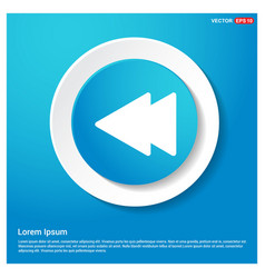 Back arrow icon vector