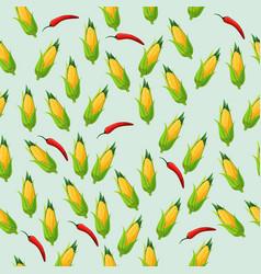 Corn cob vector