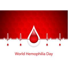 hemophilia vector image