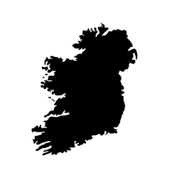 Map ireland vector