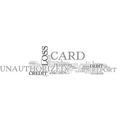 What do you do if your credit or debit card is vector