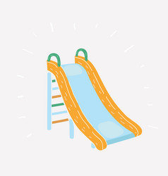 with playground vector image