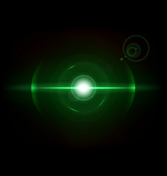 Green space explosion cosmos burst vector