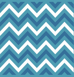 blue chevron retro decorative pattern background vector image