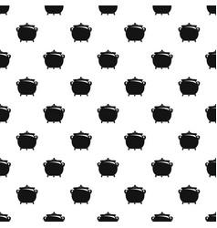 Cauldron pattern seamless vector