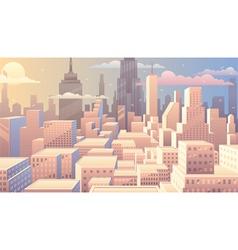 Cityscape Sunrise vector image