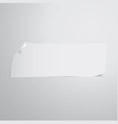 piece of paper vector image