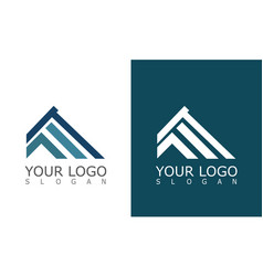 roconstruction company logo vector image