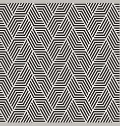 seamless lines mosaic pattern modern vector image