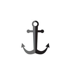 Ship anchor vector