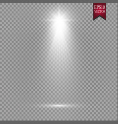 spotlights scene light effects magic vector image