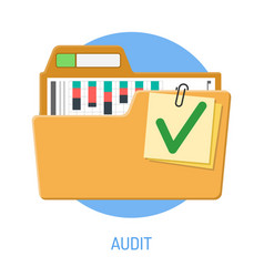 success audit concept vector image