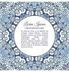 Watercolor doodle decorative pattern vector image vector image