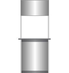 White counter vector