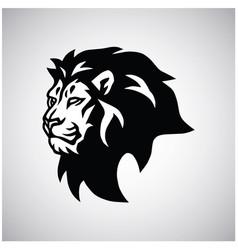 wild lion head logo esport mascot design vector image