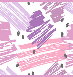 cute pastel colors abstract seamless pattern vector image vector image
