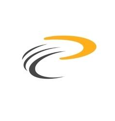 Boomerang icon logo vector