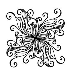 Beautiful Deco Square vector image vector image