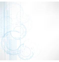 grey tech background vector image vector image